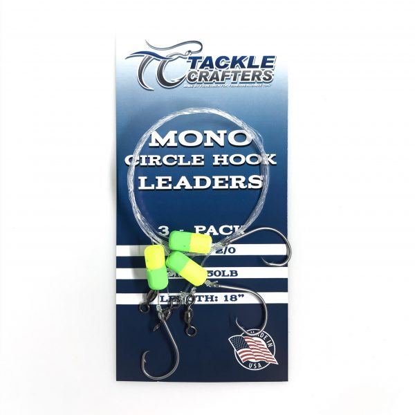 Mono Circle Hook Leader 3 – pack