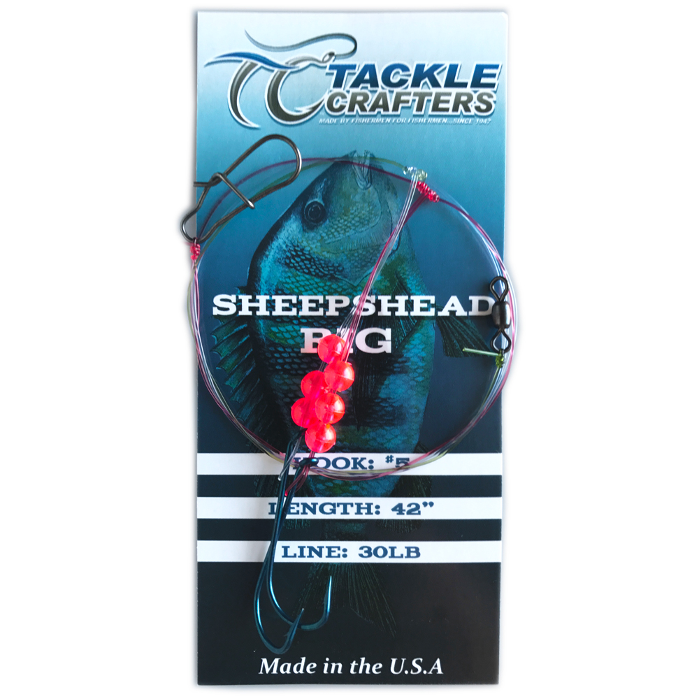 Sheepshead rig tackle crafters for Sheepshead fishing rigs