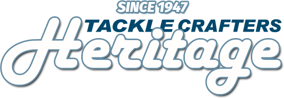 Tackle Crafters heritage sign representing Tackle Crafters, one of the best fishing clothes brands