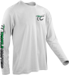 Another example of our fishing t shirts - long sleeve - and fishing apparel